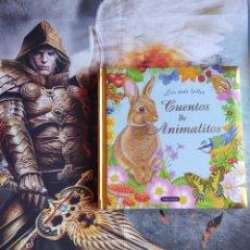 Libros de segunda mano: 6 CUENTOS Y 125 PÁGINAS APROX; TAPA ACOLCHADA; LOS MÁS BELLOS CUENTOS DE ANIMALITOS - ED SUSAETA. Lote 153121922