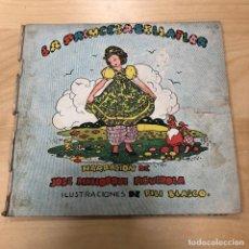 Libros de segunda mano: ANTIGUO LIBRO-MUÑECA LA PRINCESA BELLAFLOR - EDITORIAL MOLINO 1944. JOSE MALLORQUI FIGUEROLA. Lote 153177458