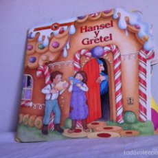 Libros de segunda mano: CUENTO TROQUELADO. HANSEL Y GRETEL ED.TORAY. 1991. Lote 153224738