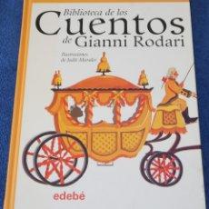 Libros de segunda mano: BIBLIOTECA DE LOS CUENTOS DE GIANNI RODARI - EDEBE (2006). Lote 153489178