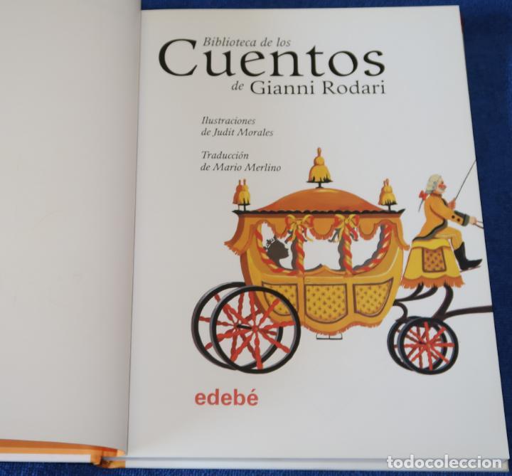Libros de segunda mano: Biblioteca de los cuentos de Gianni Rodari - Edebe (2006) - Foto 2 - 153489178