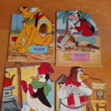 Libros de segunda mano: LOTE 4 CUENTOS TROQUELADO WALT DISNEY TORAY 1981. Lote 153496382
