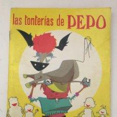 Libros de segunda mano: LAS TONTERIAS DE PEPO - EDITORIAL RAMON SOPENA - COLECCION TRES PATITOS - 1971. MBE. Lote 153563314