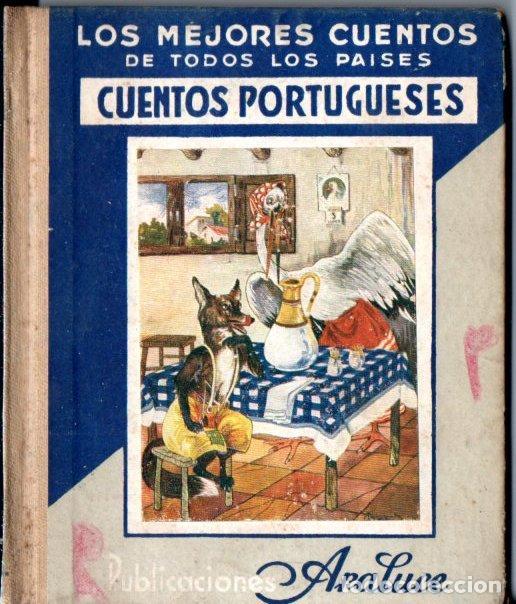 CUENTOS PORTUGUESES (ARALUCE, 1945) (Libros de Segunda Mano - Literatura Infantil y Juvenil - Cuentos)