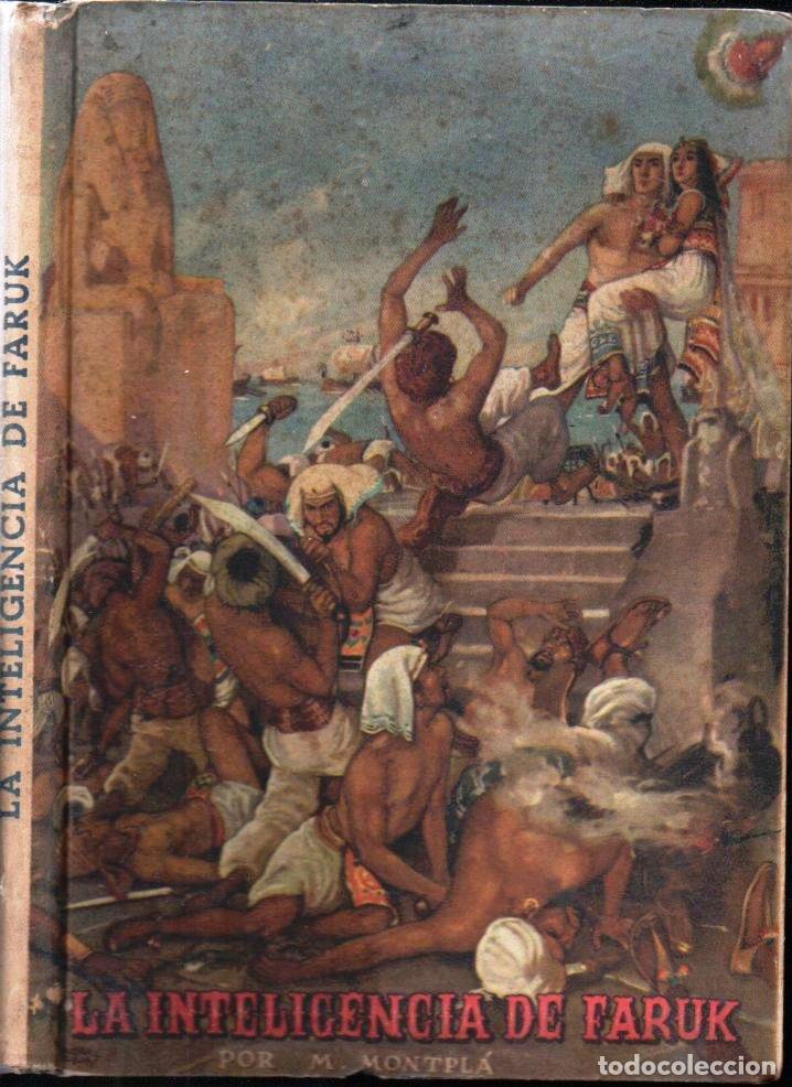 MONTPLA : LA INTELIGENCIA DE FARUK (FERRER NADAL, 1944) ILUSTRACIONES EN COLOR DE PEDRO RIU (Libros de Segunda Mano - Literatura Infantil y Juvenil - Cuentos)