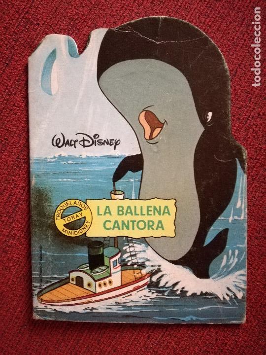Libros de segunda mano: 2 CUENTO TROQUELADO PECOS BILL-LA BALLENA CANTORA MINI DISNEY Nº 45-48 TORAY F.CAPDEVILA1984 nuevo - Foto 3 - 154233006