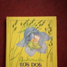 Libros de segunda mano: IDA BOHATTA LOS DOS DUENDECILLOS MINI CUENTO NUEVO PARRAMÓN 1986. Lote 154234446