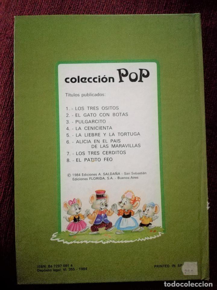 PULGARCITO TROQULADO DESPLEGABLE DIORAMA BUSQUETS SALDAÑA 1984 NUEVO (Libros de Segunda Mano - Literatura Infantil y Juvenil - Cuentos)