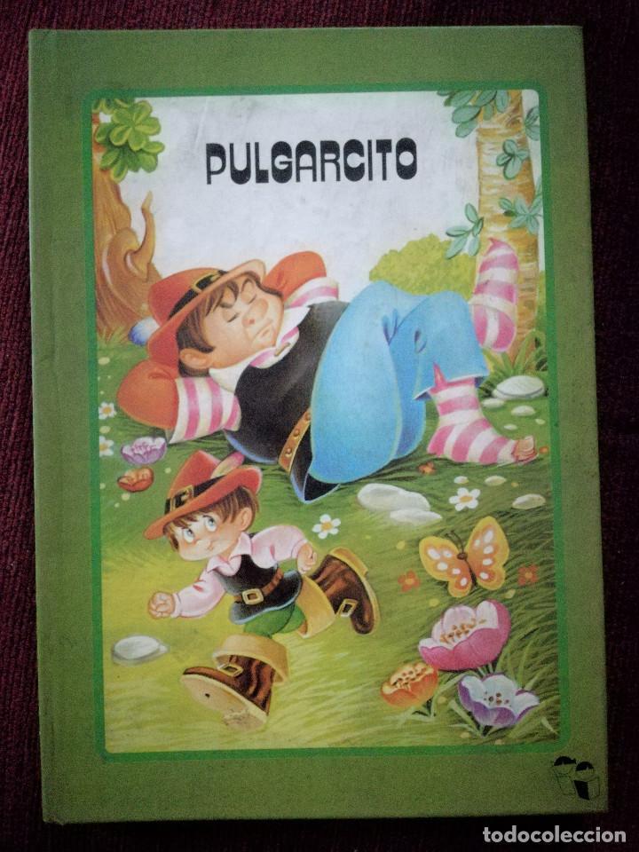 Libros de segunda mano: PULGARCITO TROQULADO DESPLEGABLE DIORAMA BUSQUETS SALDAÑA 1984 NUEVO - Foto 2 - 154274398