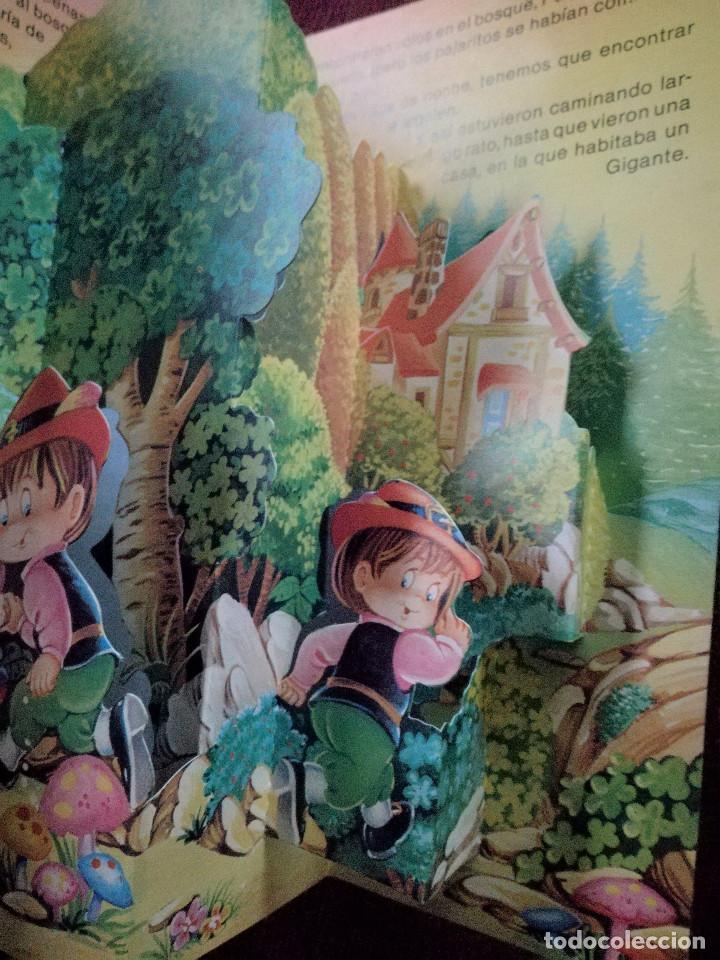 Libros de segunda mano: PULGARCITO TROQULADO DESPLEGABLE DIORAMA BUSQUETS SALDAÑA 1984 NUEVO - Foto 3 - 154274398