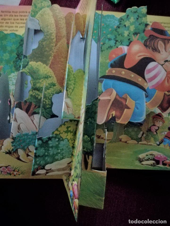Libros de segunda mano: PULGARCITO TROQULADO DESPLEGABLE DIORAMA BUSQUETS SALDAÑA 1984 NUEVO - Foto 4 - 154274398