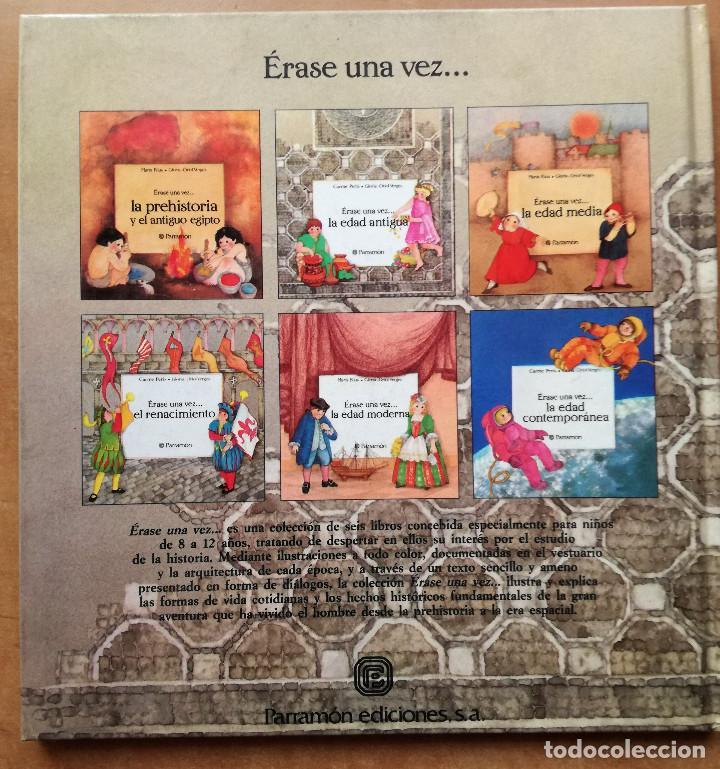 SERIE ÉRASE UNA VEZ...LA EDAD ANTIGUA PARRAMÓN 1988-CARME PERIS-GLÒRIA & ORIOL VERGÉS NUEVO (Libros de Segunda Mano - Literatura Infantil y Juvenil - Cuentos)