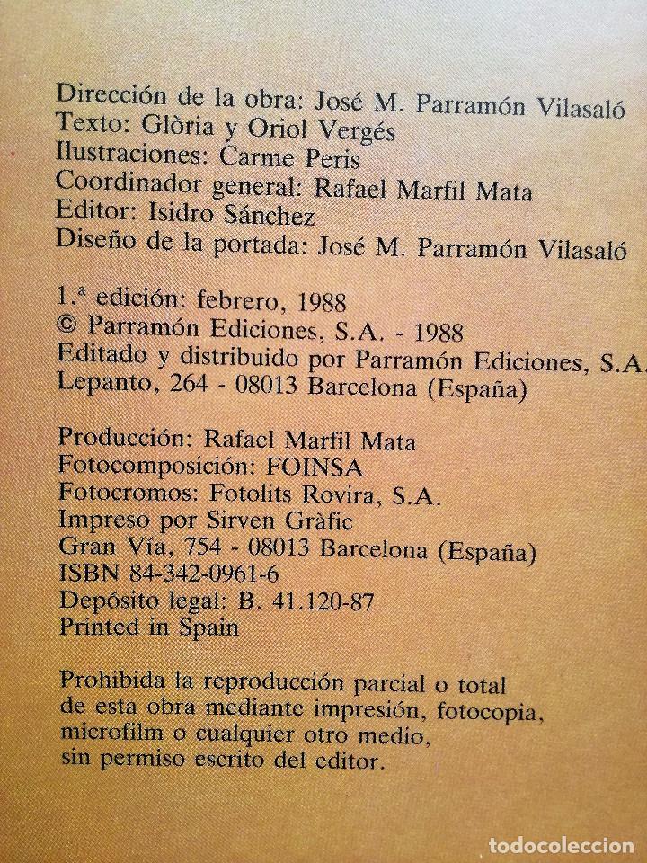 Libros de segunda mano: SERIE ÉRASE UNA VEZ...LA EDAD ANTIGUA PARRAMÓN 1988-Carme Peris-Glòria & Oriol Vergés NUEVO - Foto 3 - 154275942