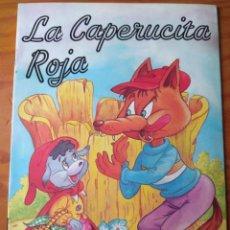 Libros de segunda mano: LA CAPERUCITA ROJA - CARLOS BUSQUETS - LEANDRO LARA EDITOR 1994 - . Lote 154597386