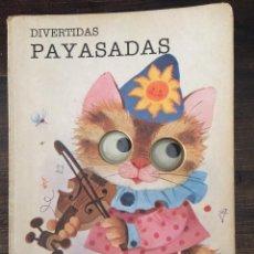 Libros de segunda mano: DIVERTIDAS PAYASADAS. MIS OJOS SE MUEVEN Y BRILLAN EN LA OSCURIDAD.. Lote 154728714