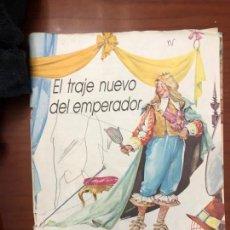 Libros de segunda mano: EL TRAJE NUEVO DEL EMPERADOR. Lote 155027602