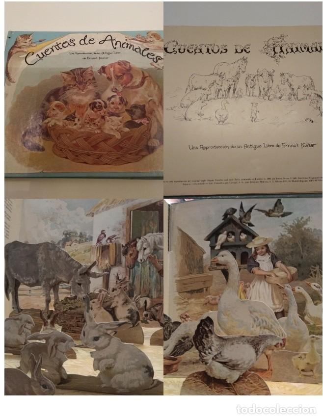 Libros de segunda mano: CUENTOS DE ANIMALES ERNEST NISTER MONTENA 1980 REPRODUCCION HAPPY FAMILIES AND THEIR TALES POP UP - Foto 1 - 155419034