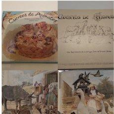 Libros de segunda mano: CUENTOS DE ANIMALES ERNEST NISTER MONTENA 1980 REPRODUCCION HAPPY FAMILIES AND THEIR TALES POP UP. Lote 155419034
