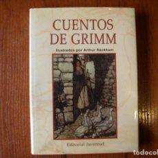 Libros de segunda mano: LIBRO CUENTOS DE GRIMM ED JUVENTUD ILUSTRACIONES ARTHUR RACKHAM. Lote 155497446