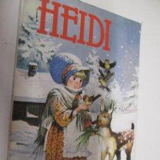 Libros de segunda mano: HEIDI , JUANA SPYRI , PRODUCCIONES EDITORIALES 1981 , PORTADA CHACO VERSION J RIBERA . Lote 155686214