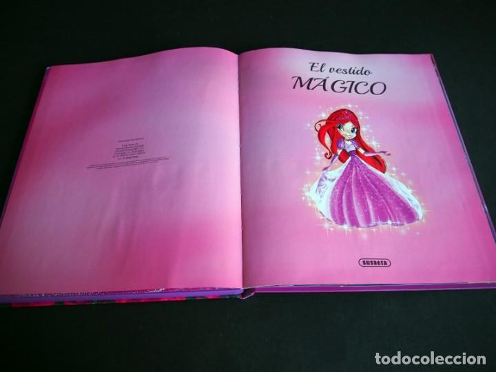 Libros de segunda mano: EL VESTIDO MAGICO. COLECCION CUENTOS LUMINOSOS. SUSAETA EDICIONES. 2015 - Foto 3 - 155761222