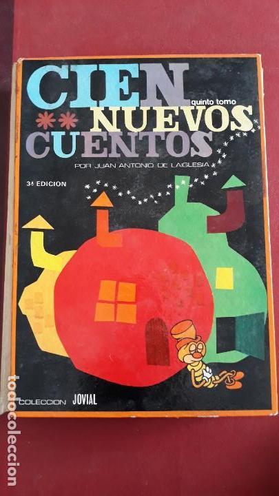 CIEN NUEVOS CUENTOS. QUINTO TOMO. JUAN ANTONIO DE LA IGLESIA. 1967 (Libros de Segunda Mano - Literatura Infantil y Juvenil - Cuentos)