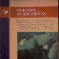 Livres d'occasion: VARIOS - CUENTOS MODERNISTAS. Lote 155959962