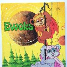 Libros de segunda mano: LIBRO EWOKS - PLAZA JOVEN - 1986. Lote 156014838