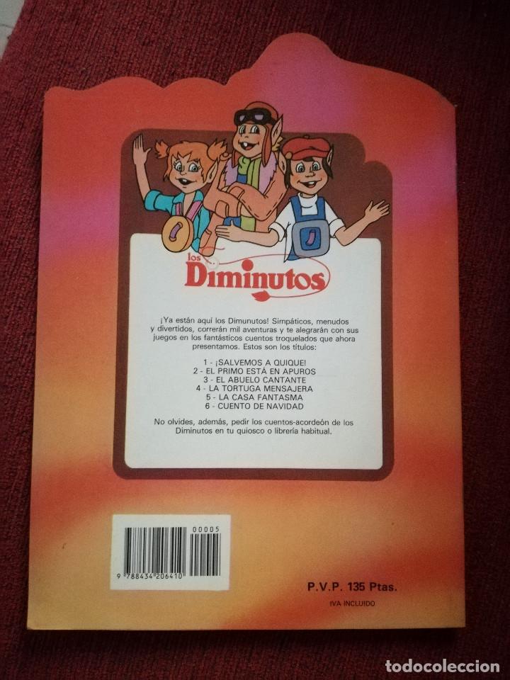 Libros de segunda mano: De Parramón Los Diminutos 3 cuentos troquelados formato grande nuevo nº 2-3 dibujos Beaumont 1986 - Foto 5 - 127753435