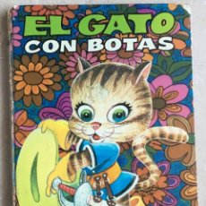Libros de segunda mano: EL GATO CON BOTAS, BRUGUERA 1971. Lote 156252174