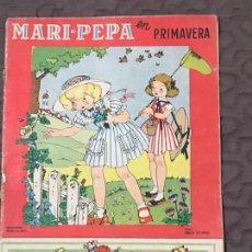 Libros de segunda mano: CUENTO MARI PEPA, MARIA CLARET , MARI- PEPA EN PRIMAVERA , CON SUPLEMENTO RECORTABLE,. Lote 156283390