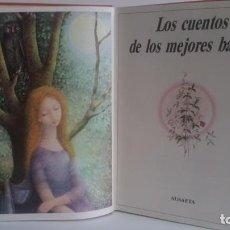 Libros de segunda mano: LIBRO DE CUENTOS DE LOS MEJORES BALLETS / CASCANUECES / BELLA DURMIENTE . Lote 156566898