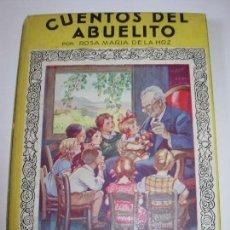 Libros de segunda mano: CUENTOS DEL ABUELITO / MIS PRIMEROS CUENTOS MOLINO. Lote 156584970