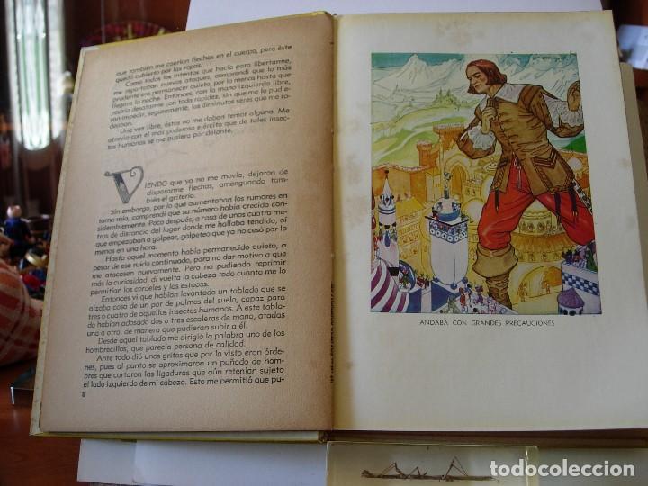 Libros de segunda mano: GULLIVER EN EL PAIS DE LILIPUT / MIS PRIMEROS CUENTOS MOLINO - Foto 6 - 156586694