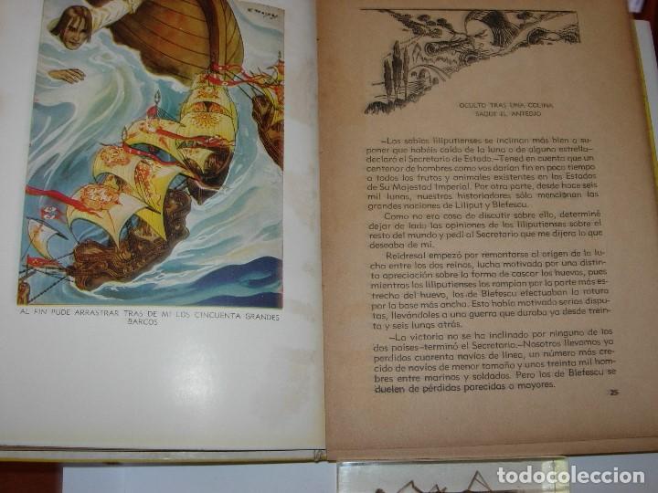 Libros de segunda mano: GULLIVER EN EL PAIS DE LILIPUT / MIS PRIMEROS CUENTOS MOLINO - Foto 7 - 156586694