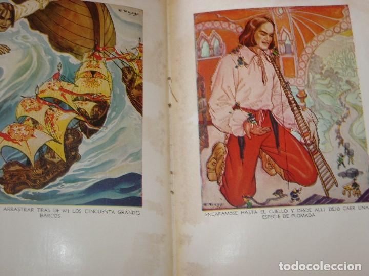 Libros de segunda mano: GULLIVER EN EL PAIS DE LILIPUT / MIS PRIMEROS CUENTOS MOLINO - Foto 8 - 156586694