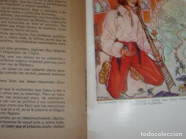 Libros de segunda mano: GULLIVER EN EL PAIS DE LILIPUT / MIS PRIMEROS CUENTOS MOLINO - Foto 9 - 156586694