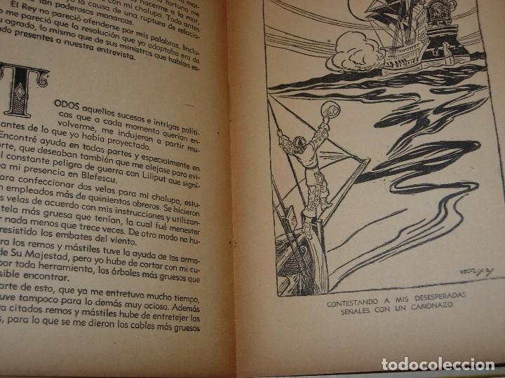 Libros de segunda mano: GULLIVER EN EL PAIS DE LILIPUT / MIS PRIMEROS CUENTOS MOLINO - Foto 10 - 156586694