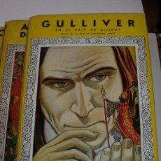 Libros de segunda mano: GULLIVER EN EL PAIS DE LILIPUT / MIS PRIMEROS CUENTOS MOLINO. Lote 156586694