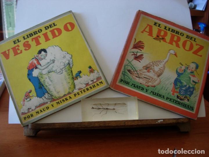 EL LIBRO DEL VESTIDO / EL LIBRO DEL ARROZ / MAUD Y MISKA PETERSHAM / SERIES PETERSHAM (Libros de Segunda Mano - Literatura Infantil y Juvenil - Cuentos)