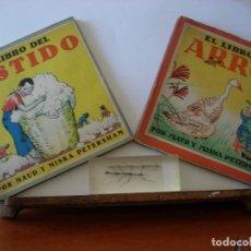 Libros de segunda mano: EL LIBRO DEL VESTIDO / EL LIBRO DEL ARROZ / MAUD Y MISKA PETERSHAM / SERIES PETERSHAM. Lote 156684266