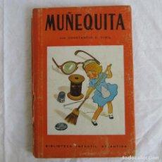 Libros de segunda mano: MUÑEQUITA, C.C. VIGIL. BIBLIOTECA INFANTIL ATLÁNTIDA 1943. Lote 156714102