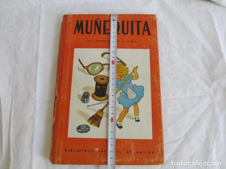 Libros de segunda mano: Muñequita, C.C. Vigil. Biblioteca Infantil Atlántida 1943 - Foto 4 - 156714102