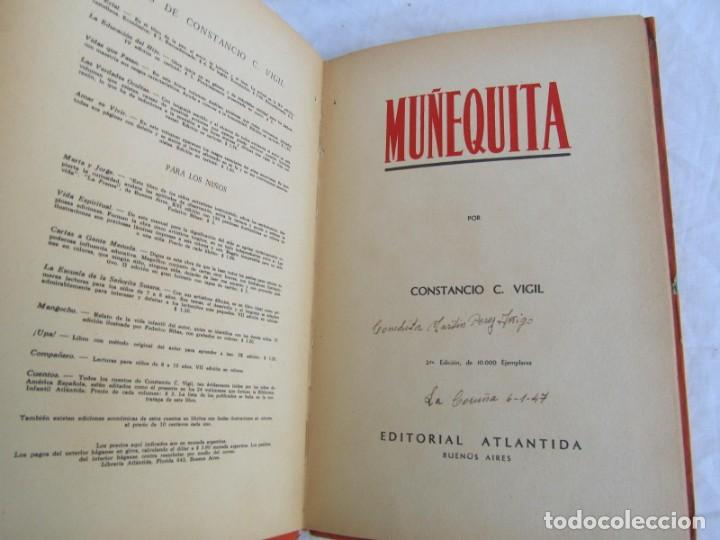 Libros de segunda mano: Muñequita, C.C. Vigil. Biblioteca Infantil Atlántida 1943 - Foto 6 - 156714102