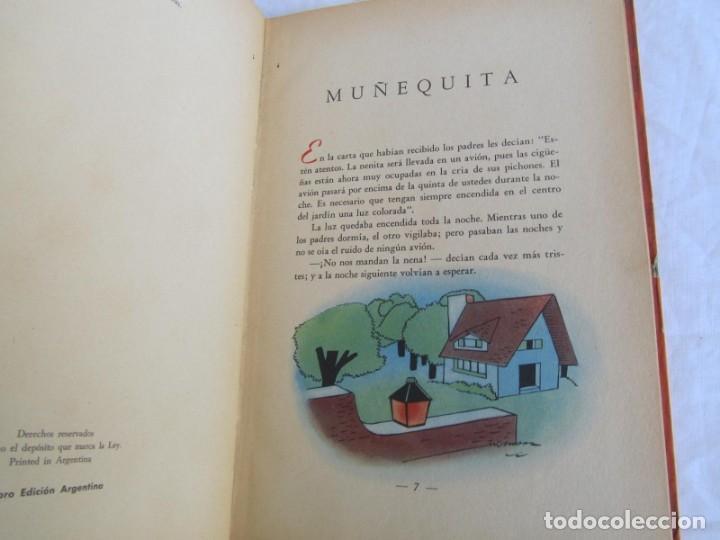 Libros de segunda mano: Muñequita, C.C. Vigil. Biblioteca Infantil Atlántida 1943 - Foto 7 - 156714102