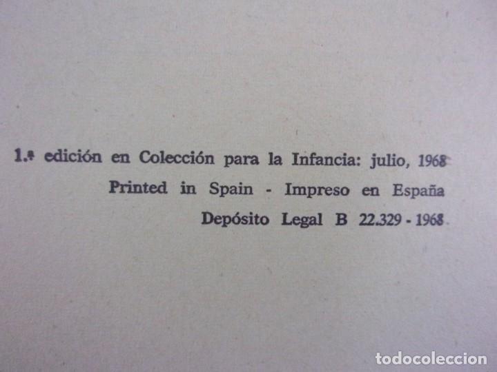 Libros de segunda mano: CAPERUCITA ROJA / Bruguera. 1968 / 1ª edición en Colección para la infancia - Foto 2 - 157242130