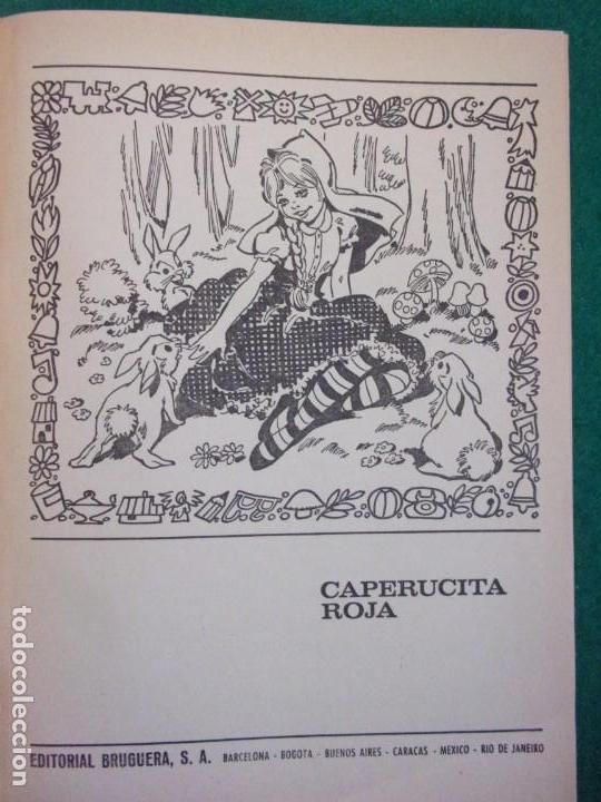 Libros de segunda mano: CAPERUCITA ROJA / Bruguera. 1968 / 1ª edición en Colección para la infancia - Foto 3 - 157242130
