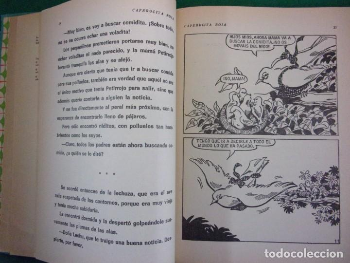 Libros de segunda mano: CAPERUCITA ROJA / Bruguera. 1968 / 1ª edición en Colección para la infancia - Foto 4 - 157242130