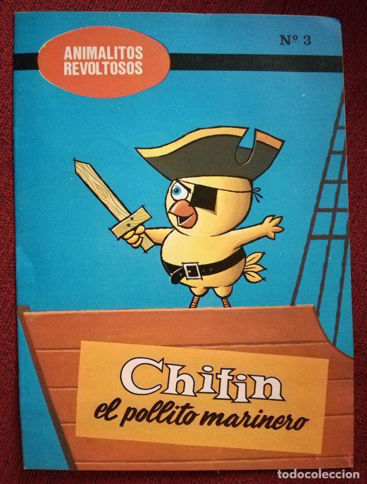 CUENTO ANIMALITOS REVOLTOSOS BOGA Nº 3 CHITIN EL POLLITO MARINERO 1972 MORALEJA (Libros de Segunda Mano - Literatura Infantil y Juvenil - Cuentos)