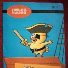 Libros de segunda mano - CUENTO ANIMALITOS REVOLTOSOS BOGA Nº 3 CHITIN EL POLLITO MARINERO 1972 MORALEJA - 157657478